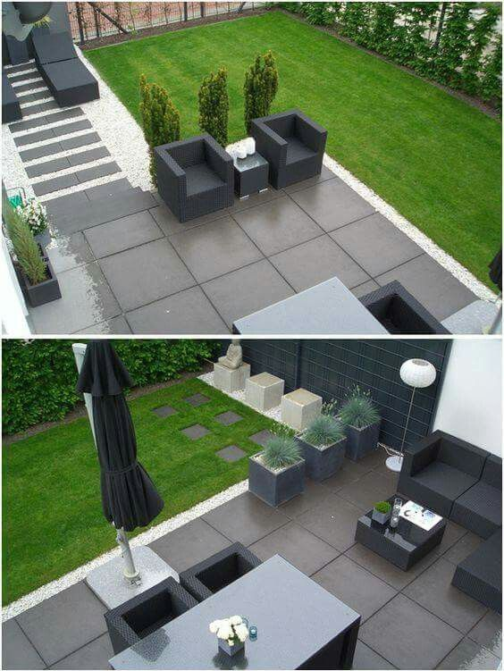 Pin Von Lauren Attard Auf Bahce Moderne Landschaftsgestaltung Moderne Gartenentwurfe Garten