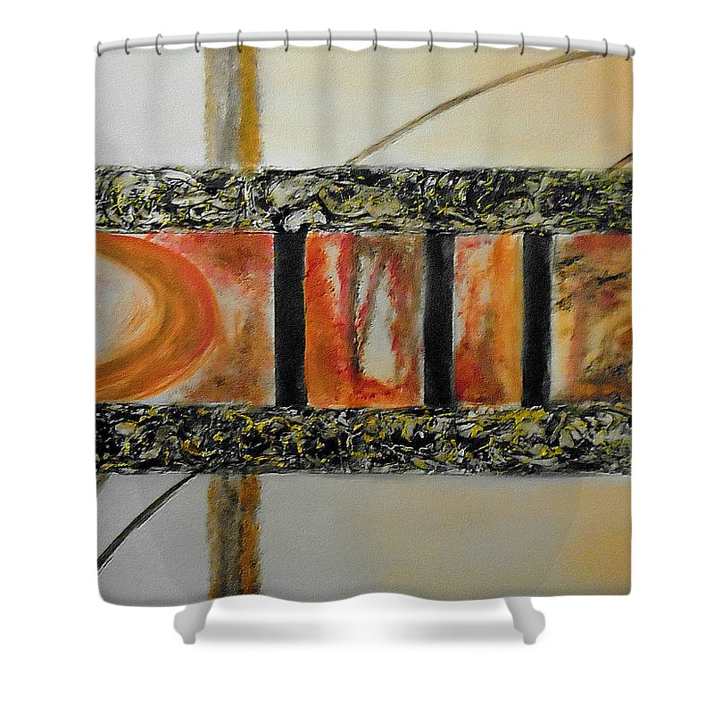 Windows To Contemplation Shower Curtain For Sale By Faye