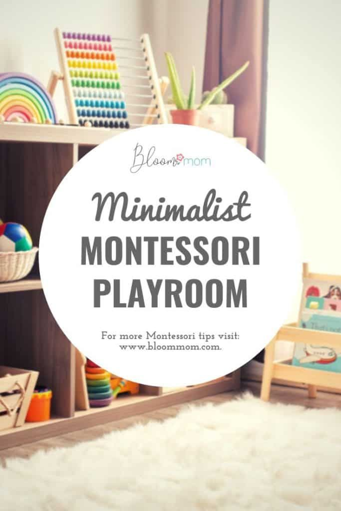 Beautiful Minimalist Montessori Playroom - Bloom Mom