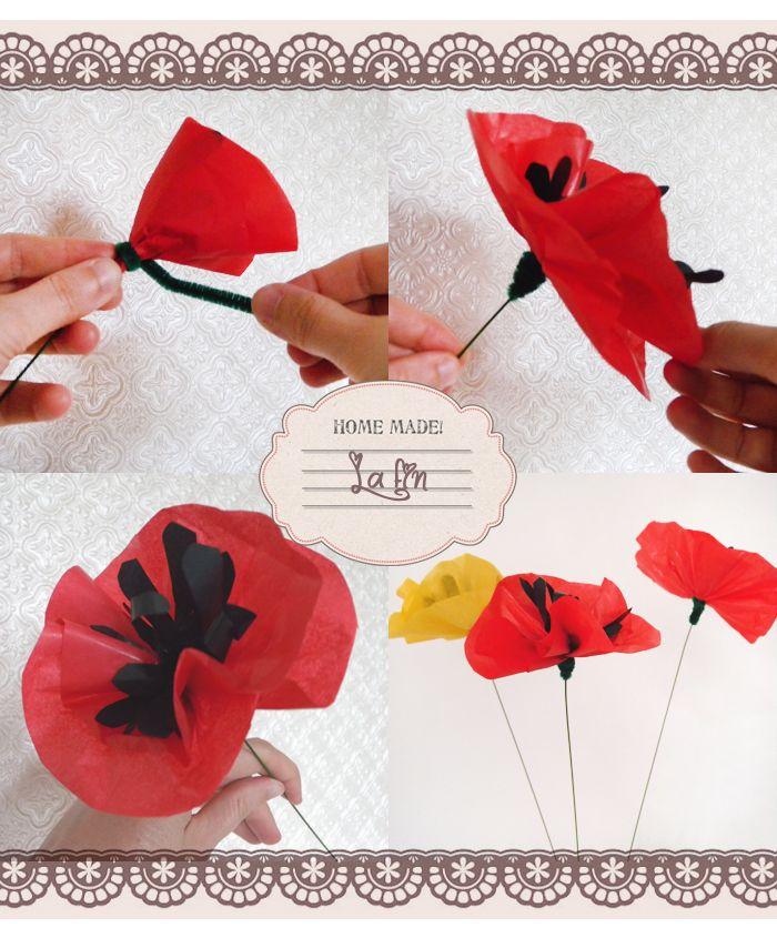 Comment Faire Une Fleur En Papier Methode Facile Http Www