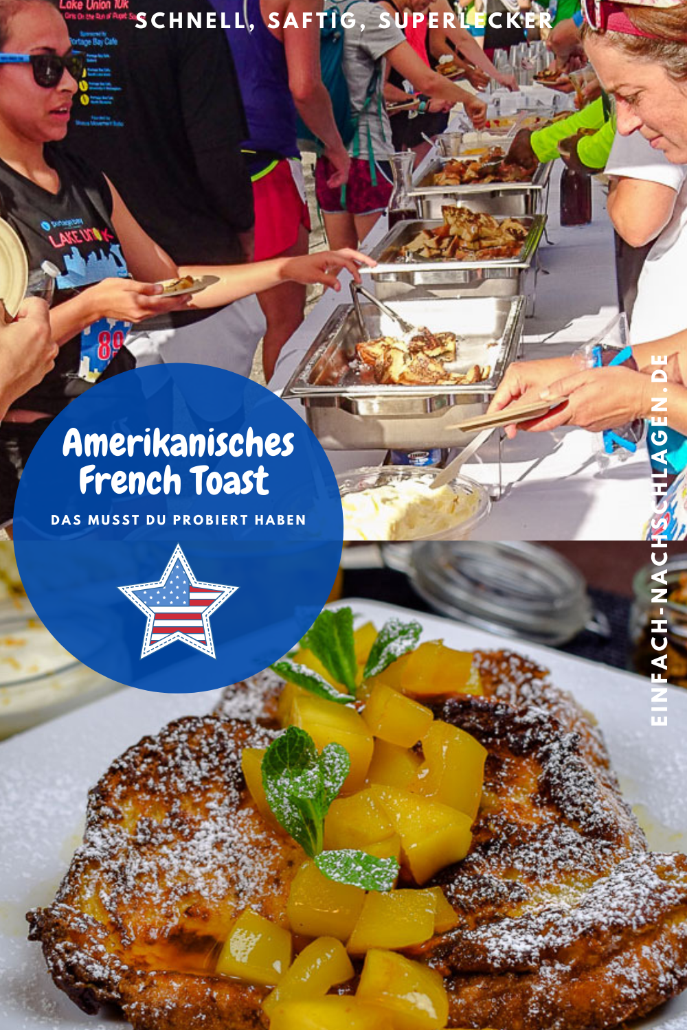 This is how the perfect French toast is made - like in an American diner - #american #diner #french #perfect #toast - #BreakfastRecipesFrenchToast