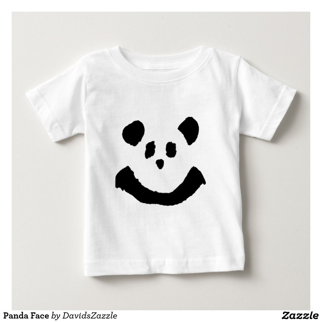 Panda Face Baby Tee  Available on more products! Type in the name of the design in the search bar on my Zazzle Products Page. Thanks for looking!   #baby #clothes #apparel #suit #shirt #tee #beanie #hoody #long #sleeve #sweatshirt #pacifier #fun #zazzle #buy #sale #cute #cuddly #panda #bear #cartoon #illustration #black #white #drawing #nature #planet #earth #animal #friend
