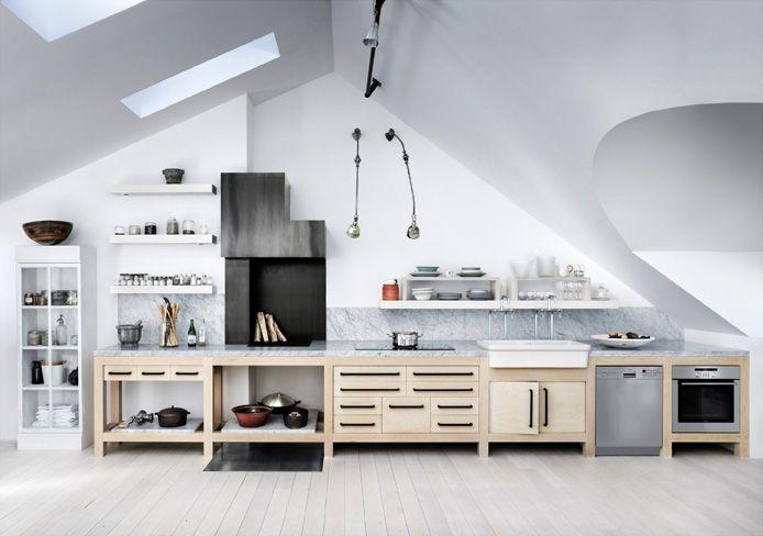 Carouschka Streijffert\u0027s loft Kitchen  Dining Pinterest Lofts