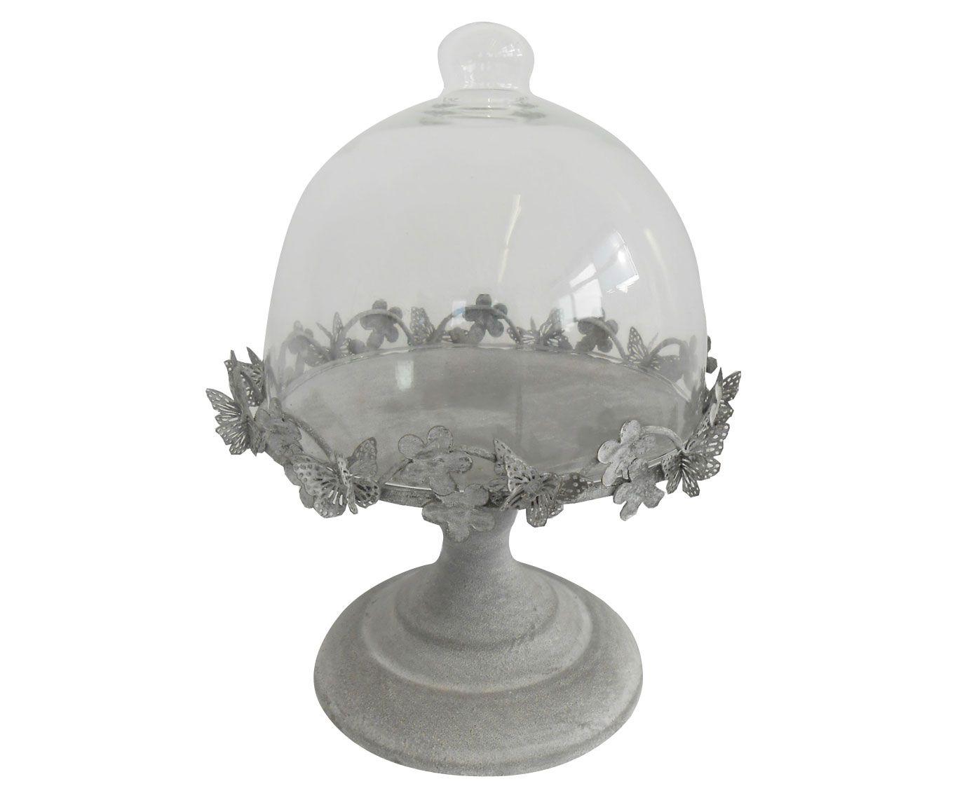 Alzatina con coperchio in vetro Paris | Dalani Home ...