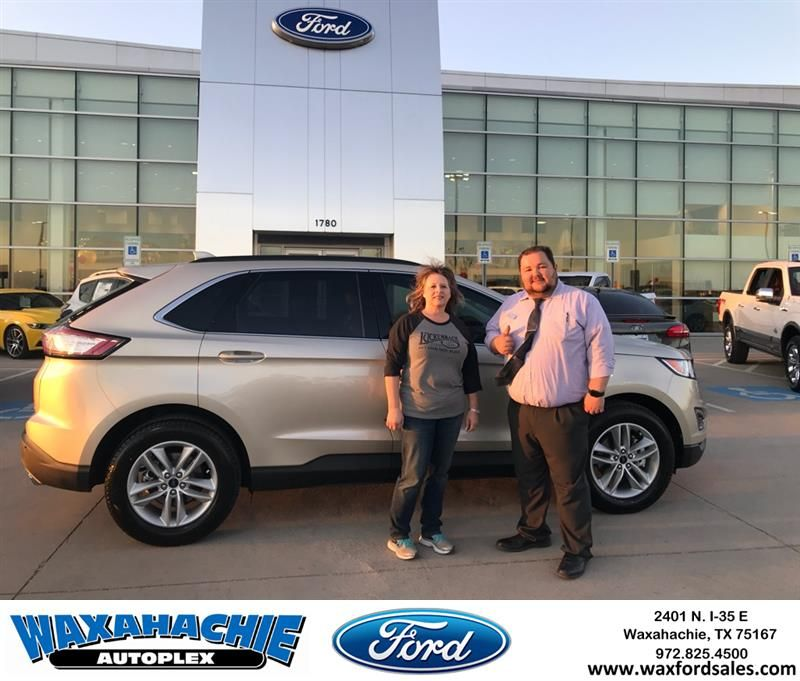 Waxahachie Ford Customer Review Just Wanted To Say Josh And Eric Were Great Helping Me Pick Out My New Ford Edge Wer New Ford Edge Waxahachie Eric Nelson