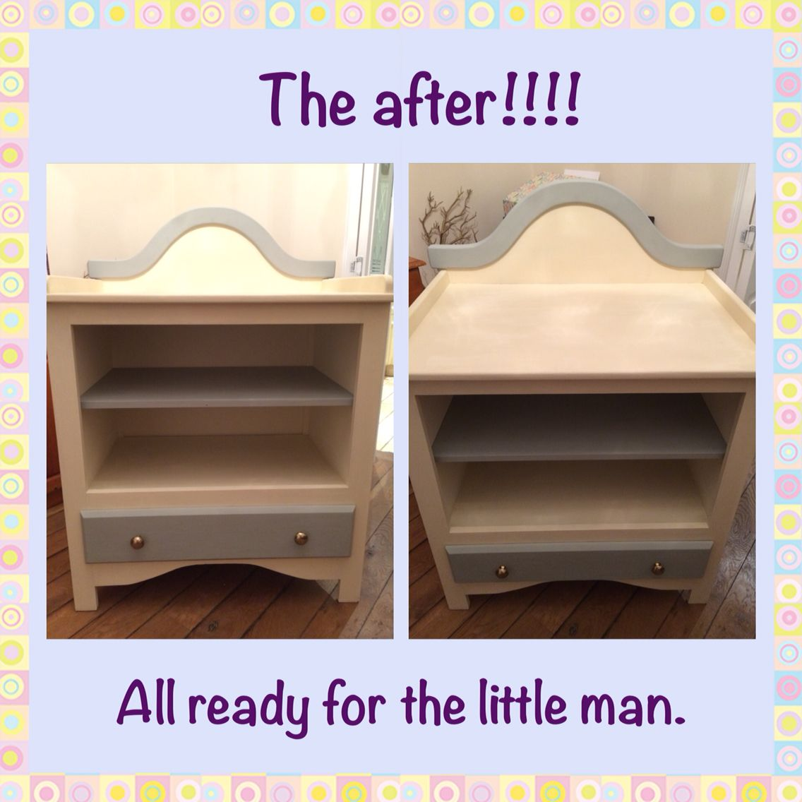 We've finally had chance to sort out the unit for the little man when he arrives! Well done Matt!