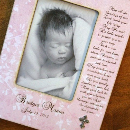Baptism Christening Baby Blessing with PLATED CROSS by OhNoAvocado, $41.00