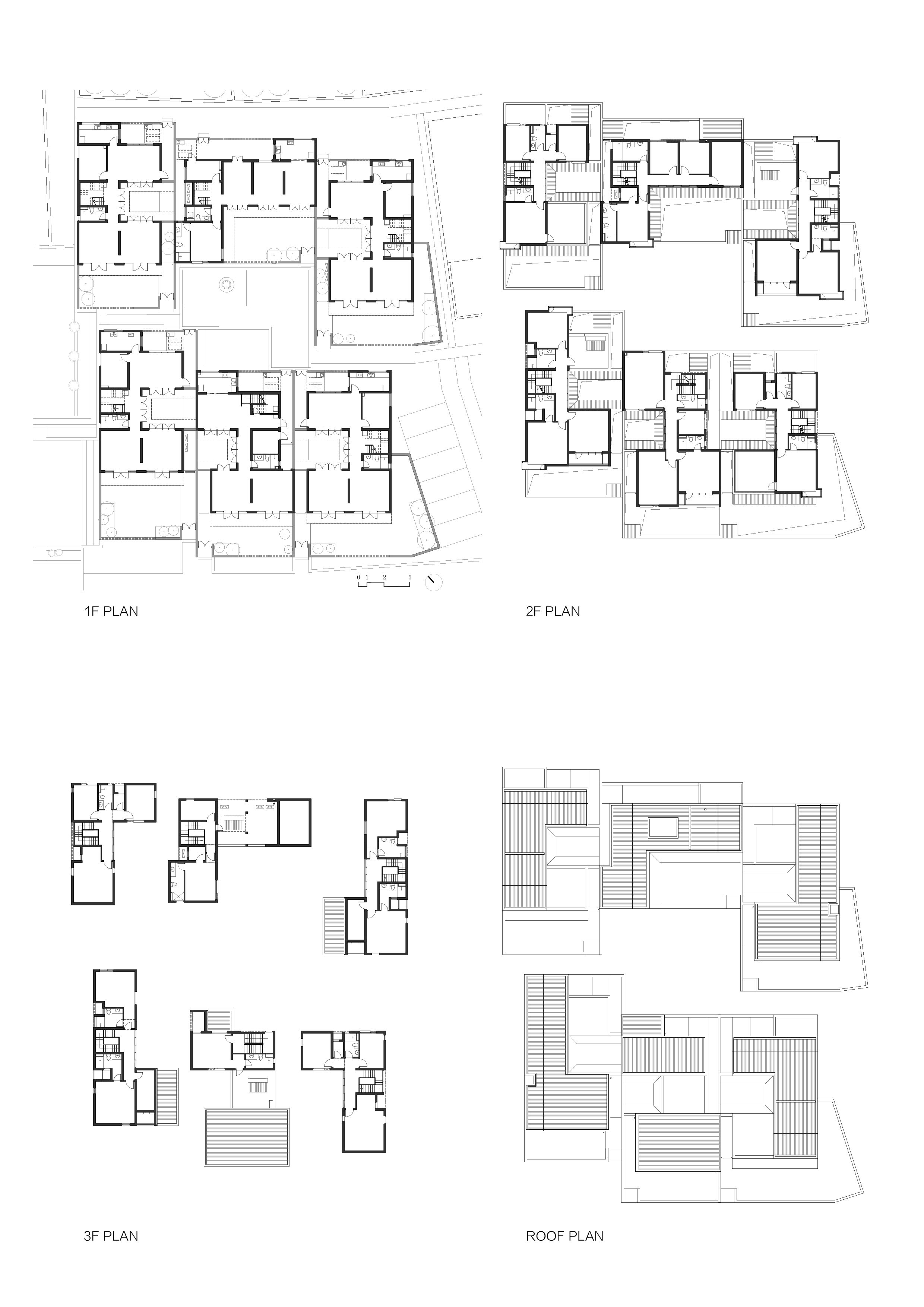 Gad Line Studio Creates Low Cost Housing In Rural Chinese Village Grid Architecture Low Cost Housing Hospital Plans