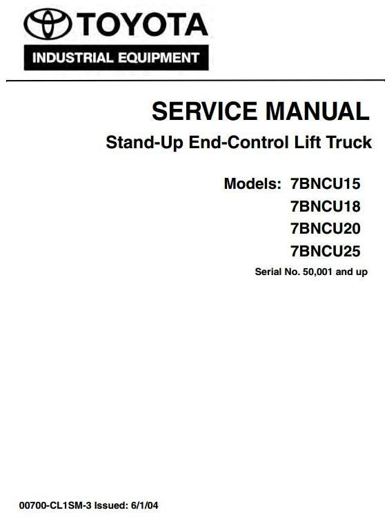 Toyota Stand-Up Lift Truck 7BNCU15, 7BNCU18, 7BNCU20, 7BNCU25 ... on nissan forklift engine diagram, forklift brake diagram, forklift controls diagram, liebherr wiring diagram, toyota forklift parts catalog, toyota forklift ignition, forklift schematic diagram, toyota forklift distributor, skytrak wiring diagram, bomag wiring diagram, toyota forklift heater, toyota forklift assembly, ingersoll rand wiring diagram, hyster wiring diagram, jungheinrich wiring diagram, clark wiring diagram, challenger wiring diagram, toyota forklift distribuator wiring, toyota forklift serial number, nissan wiring diagram,