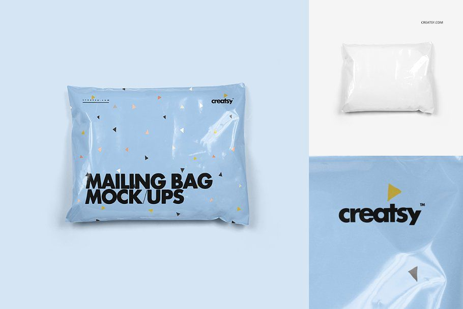 Download Mailing Bag Mockup Set Bag Mockup Mockup Creative Market