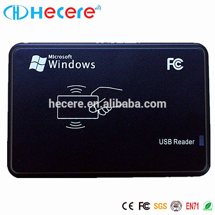 125KHz USB RFID Readers WriterT5577 and EM4305 rfid reader