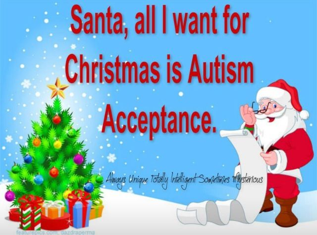 Everybody with Aspergers Syndrome and Autism want to be fully accepted but it's no that easy when members of society constantly Stigmatize and are Cruel and Callous towards them. There's no need for it. All people have to do is have a Level and a Degree of Understanding and Patience for them so they have a better Quality of Life❤  #autism #areuaware #aspergers #autismangels #autismawareness #teamthai #proudautismmom #1in88☝ #myloveforautism ❤