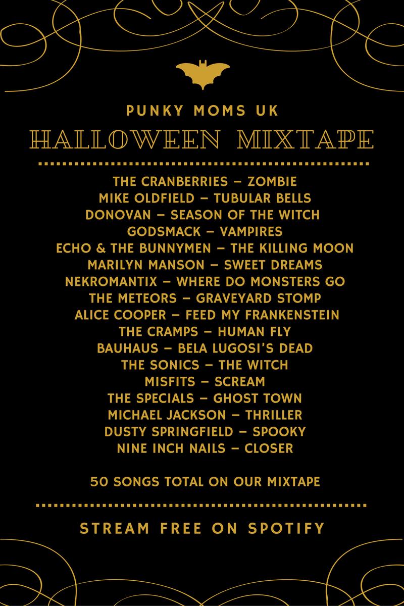 The PMUK Halloween Mega Playlist | Spooky song, Halloween music ...