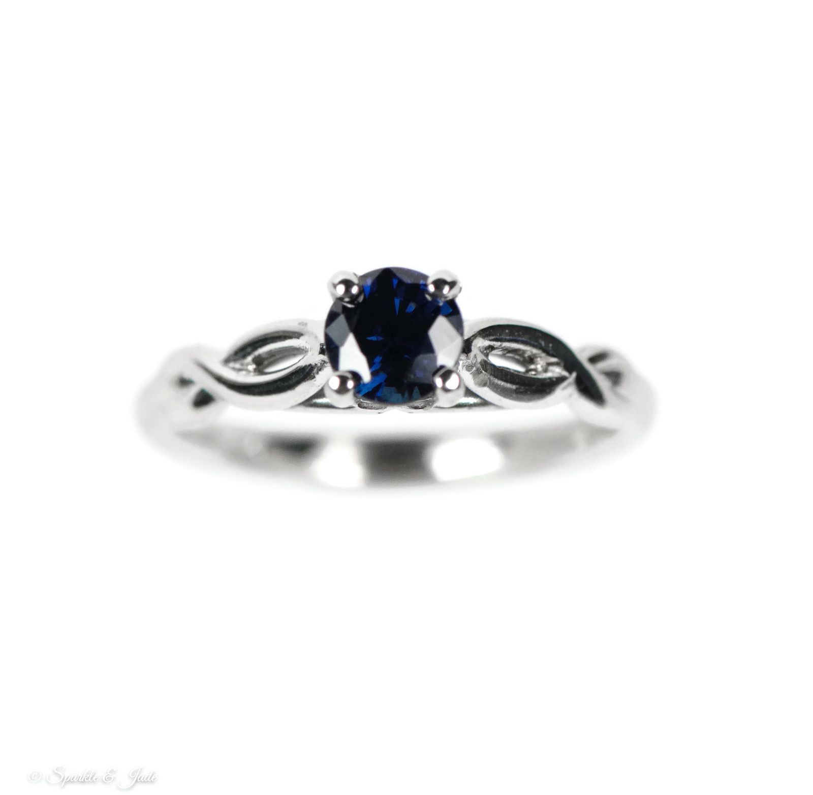 diamond ring sapphire point products with blue of platinum love solitaire engagement