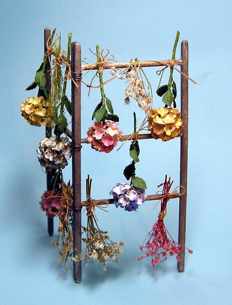 diy dollhouse miniatures by joann swanson - a drying rack plus many