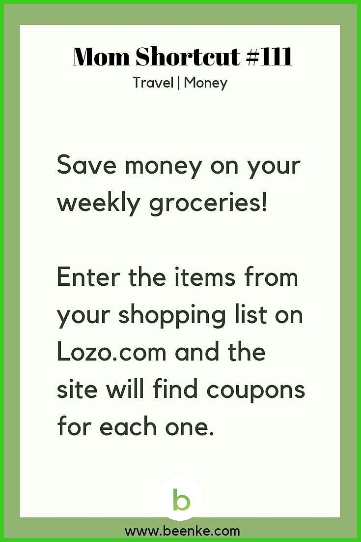 Travel And Money Saving Hacks For The Whole Family Money saving tips for moms  A trick for saving money on your weekly groceries Want more helpful money hacks like this S...