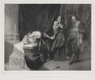 Maria Eleonora and princess Christina mourn