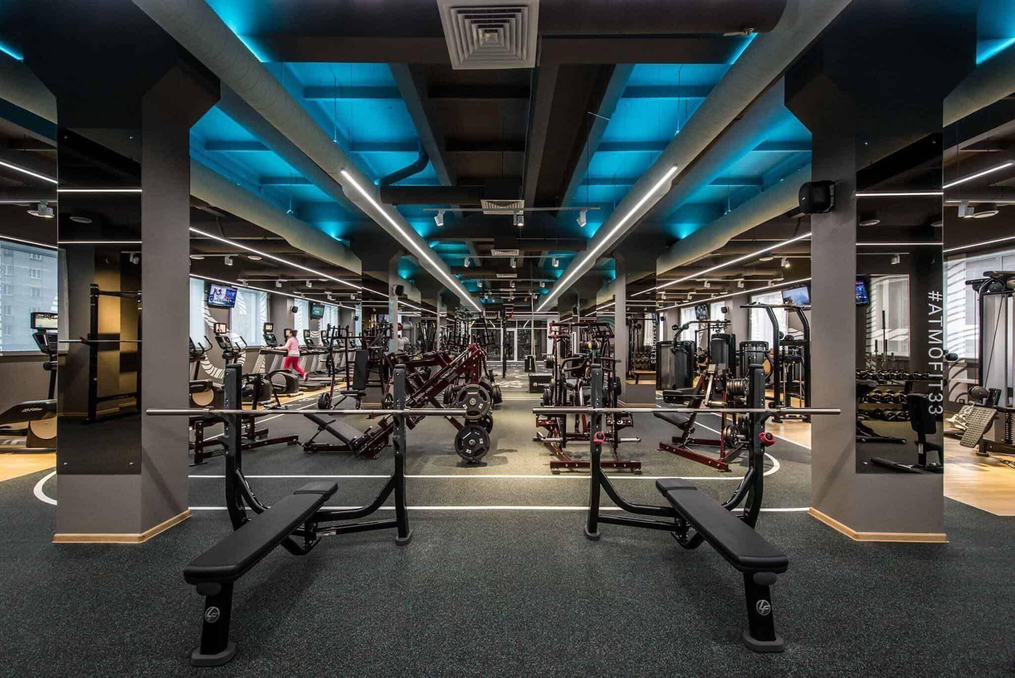 Stylish Gym Interior Decoration Ideas In 2021 Gym Interior Home Gym Design Gym Design