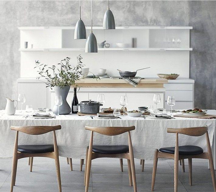 18 Beautiful Bright Kitchen Design Ideas To Serve You As: De Eetkamer Is Een Belangrijke Plek In Het Huis, Omdat