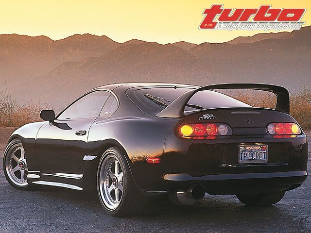 Stock Supra Spoiler To Swap With The High Level Coquette Spoiler