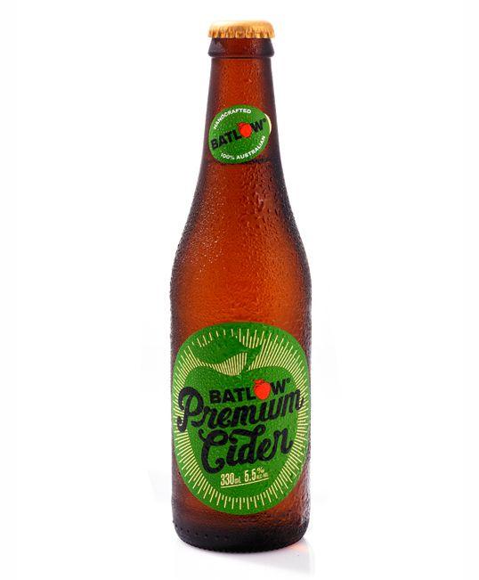 Batlow Premium Cider  #package #design
