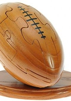 Rugby Ball 3d Wooden Puzzle Free Keyring Fun Novelty Handcrafted Wood Christmas Gift Idea Buy A Handm Wooden Puzzles 3d Jigsaw Puzzles