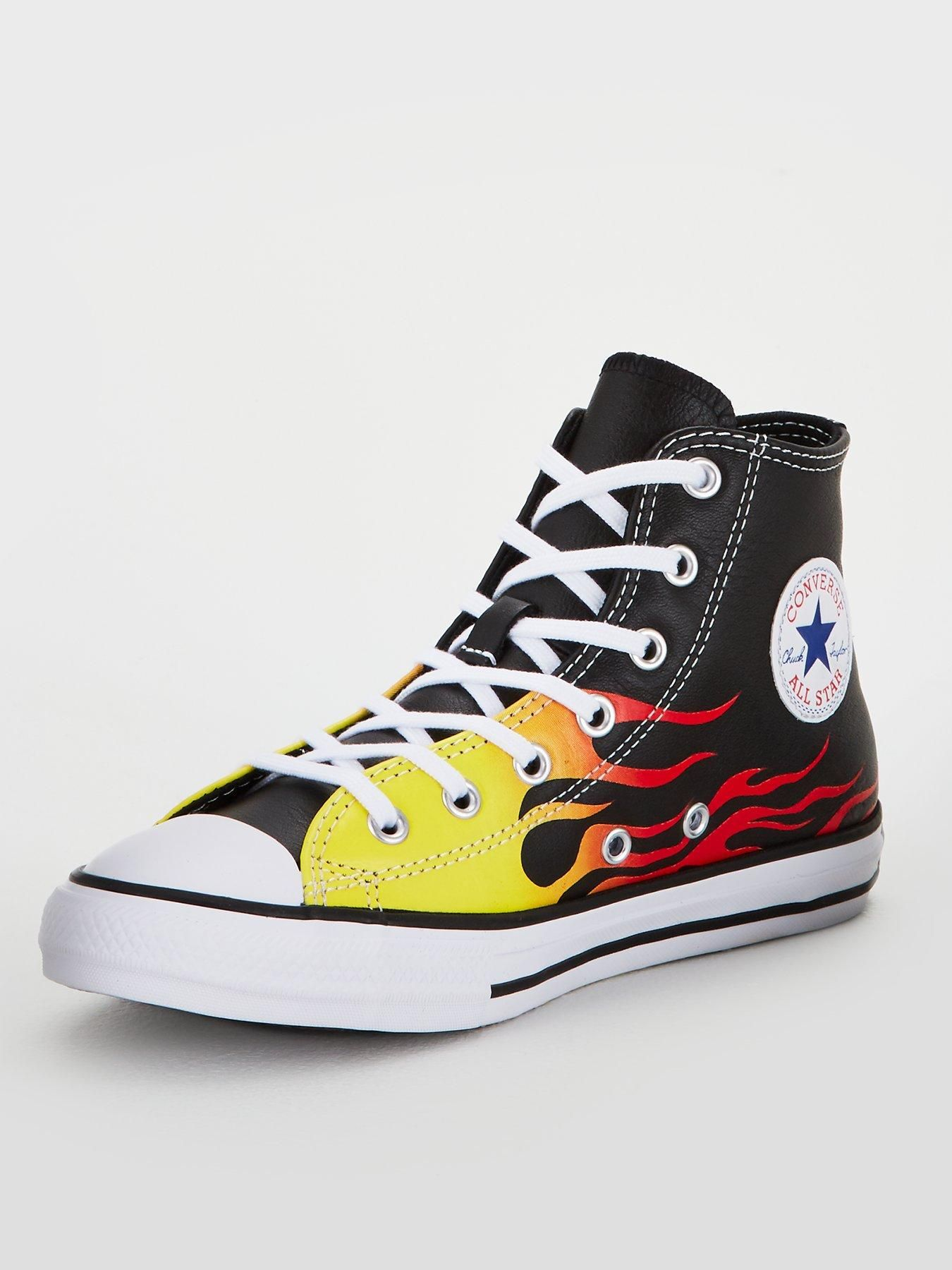 Converse Black Chuck 70 Neon Nights High Top Sneakers | Browns