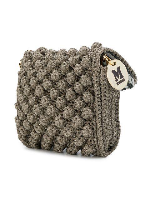 M Missoni knitted style crossbody bag | missoni | Pinterest