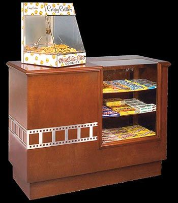 Hardwood Home Theater Concession Counter At Home Movie Theater Home Theater Seating Home