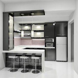 Desain Dapur Minimalis Rumah Pinterest
