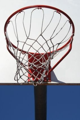 Making Basketball Nets At Home Basketball Net Diy Basketball Hoop Diy Basketball
