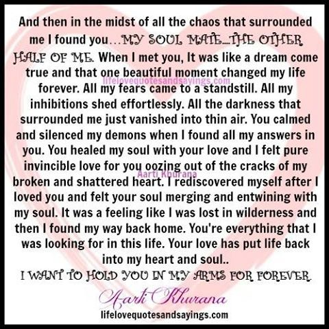 IN THE MIDST OF MY STORM I FOUND MY FOREVER PIECE OR SO I THOUGHT