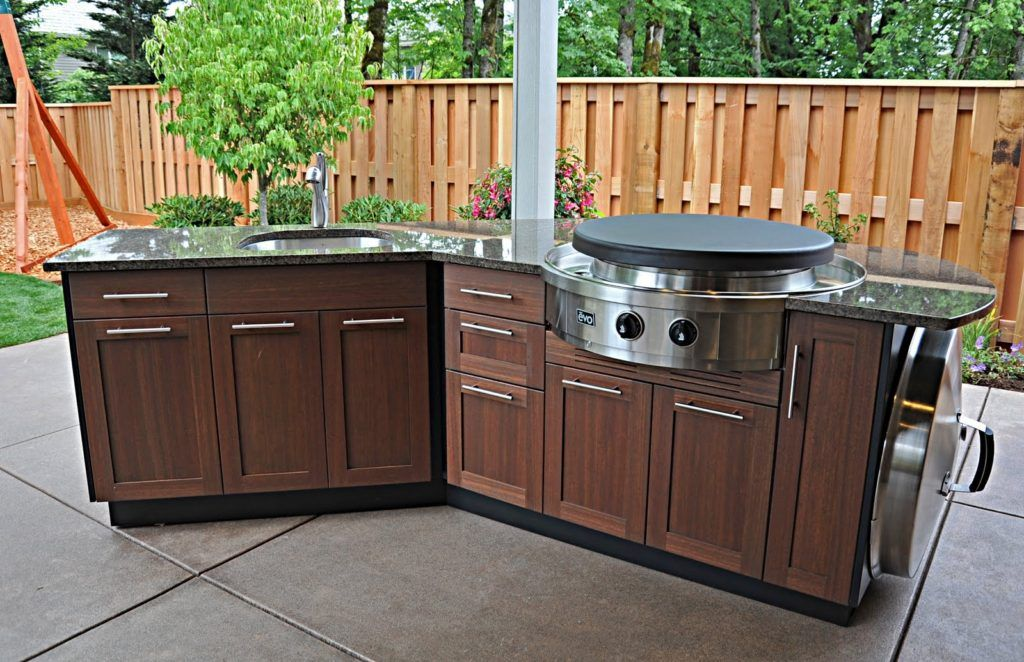 Marine Grade Polymer Outdoor Kitchen Cabinets Outdoor Kitchen