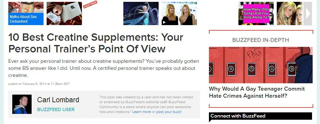Finding the best creatine and obtaining fantastic outcomes.