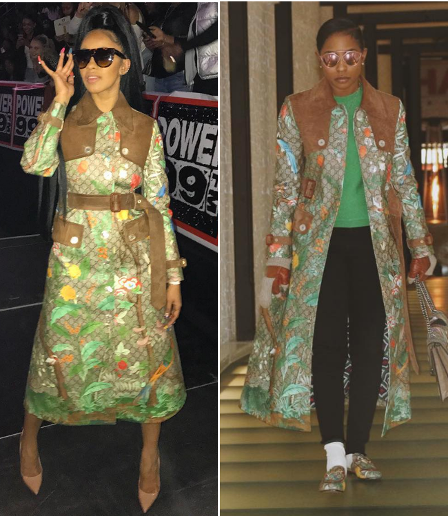 Gucci face-off Cardi B VS Dej Loaf