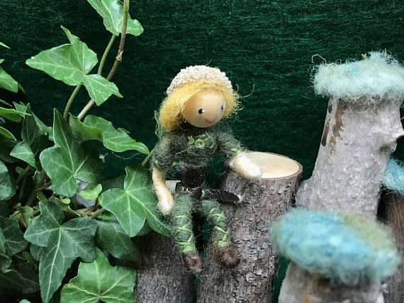 Bendy doll , needlefelted elf, woodland wee folk #dollsneedlefelt Each of our little forest folk would love to share their fun loving wise advice and friendship. They are lovingly handmade using natural wool and a non toxic wire armature. Fully poseable they can climb ladders, hug, carry,sit and even do yoga. #dollsneedlefelt Bendy doll , needlefelted elf, woodland wee folk #dollsneedlefelt Each of our little forest folk would love to share their fun loving wise advice and friendship. They are l #dollsneedlefelt