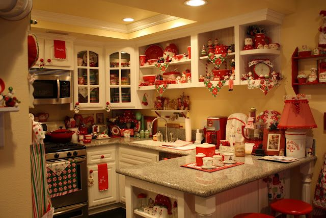 excellent white kitchen yellow accents | White cabinets, yellow walls and red accents. Trade the ...