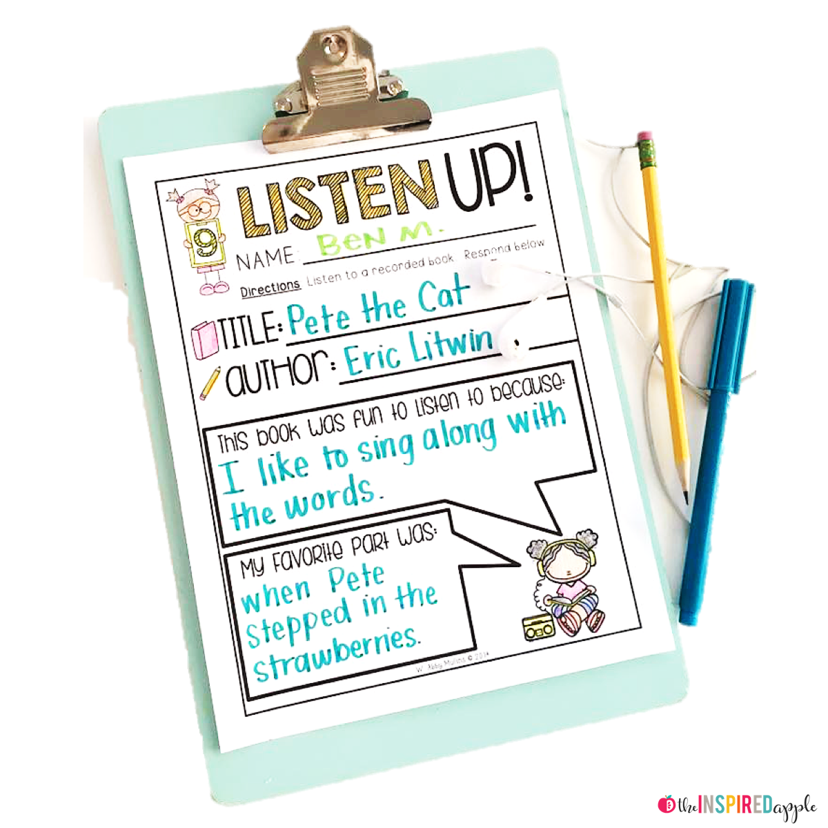 Teachers are BUSY people, which is why these no-prep literacy printables are great for centers, review, subs, and more! Simply print, add a clipboard, and use what you already have on hand - word walls, spelling lists, environmental print, books, listening centers, etc. - in your classroom to engage and challenge your kindergarten, first grade, and second grade students! Fun, engaging, and EASY!