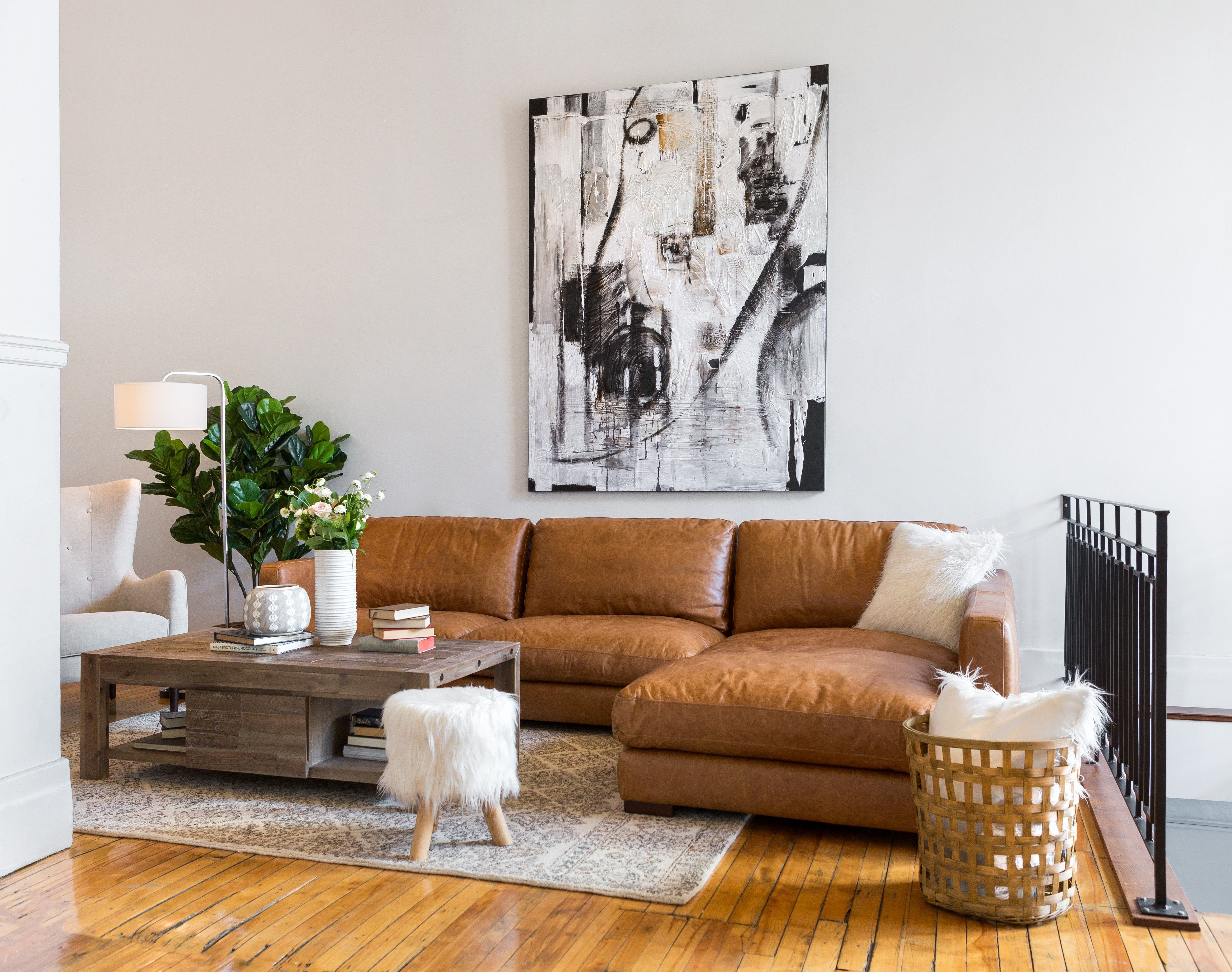 Leather Sectional Sofas For Modern Living Room In 2019