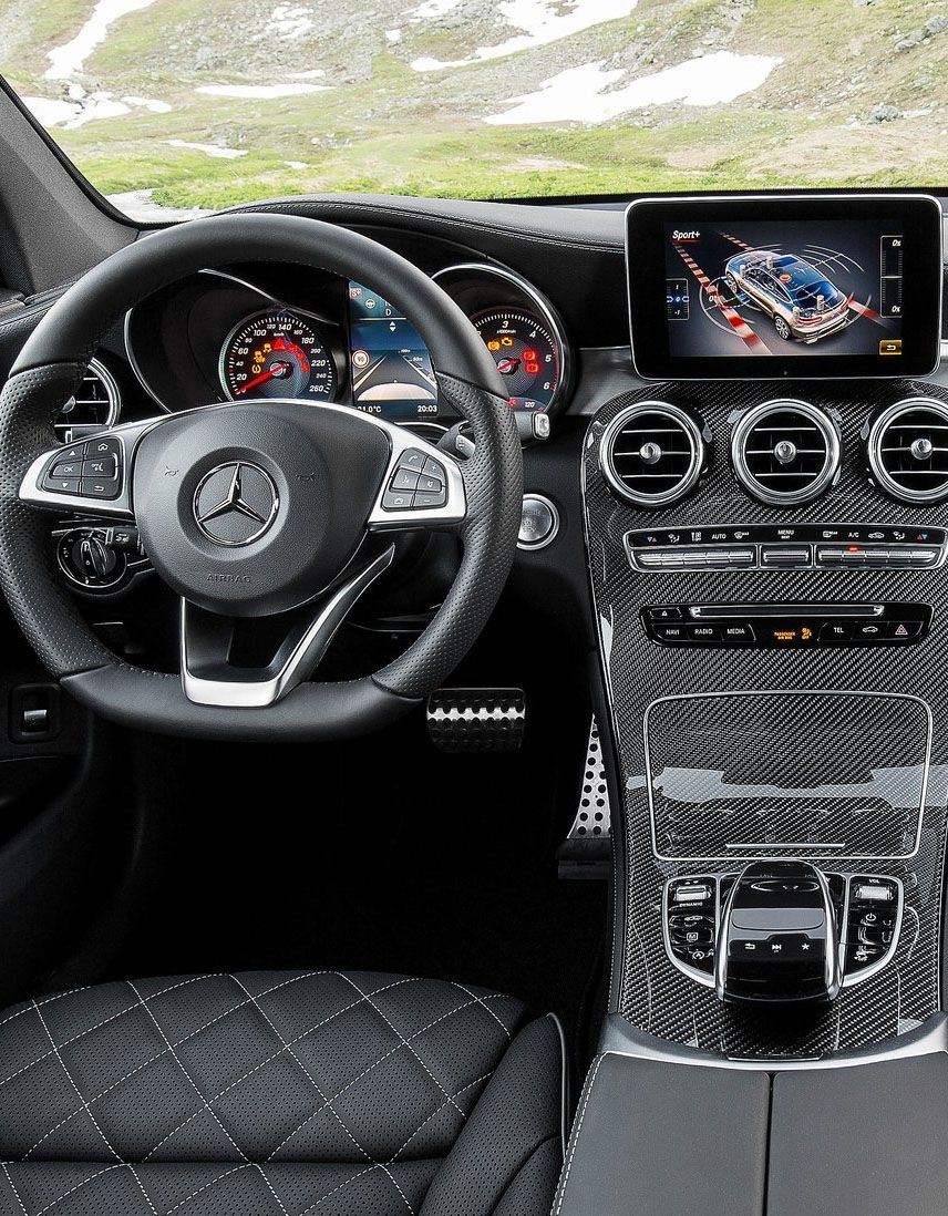 Mercedes Benz Glc Coupe 2017 Cluster 1 With Images Mercedes