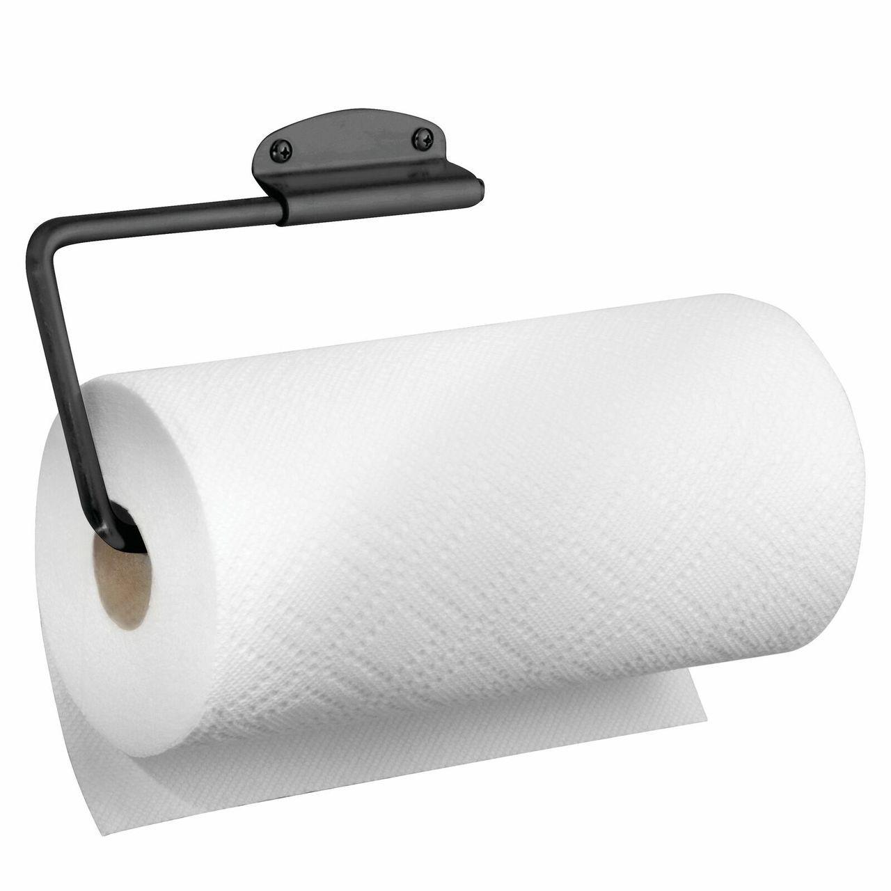 Metal Wall Mount Swivel Under Cabinet Paper Towel Holder Paper Towel Holder Towel Holder Metal Paper Towel Holder