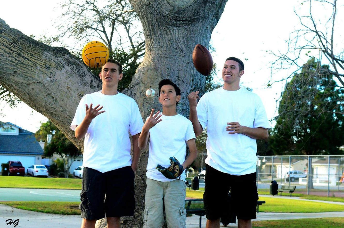 Brothers... Water Polo, Baseball and Football, Sports