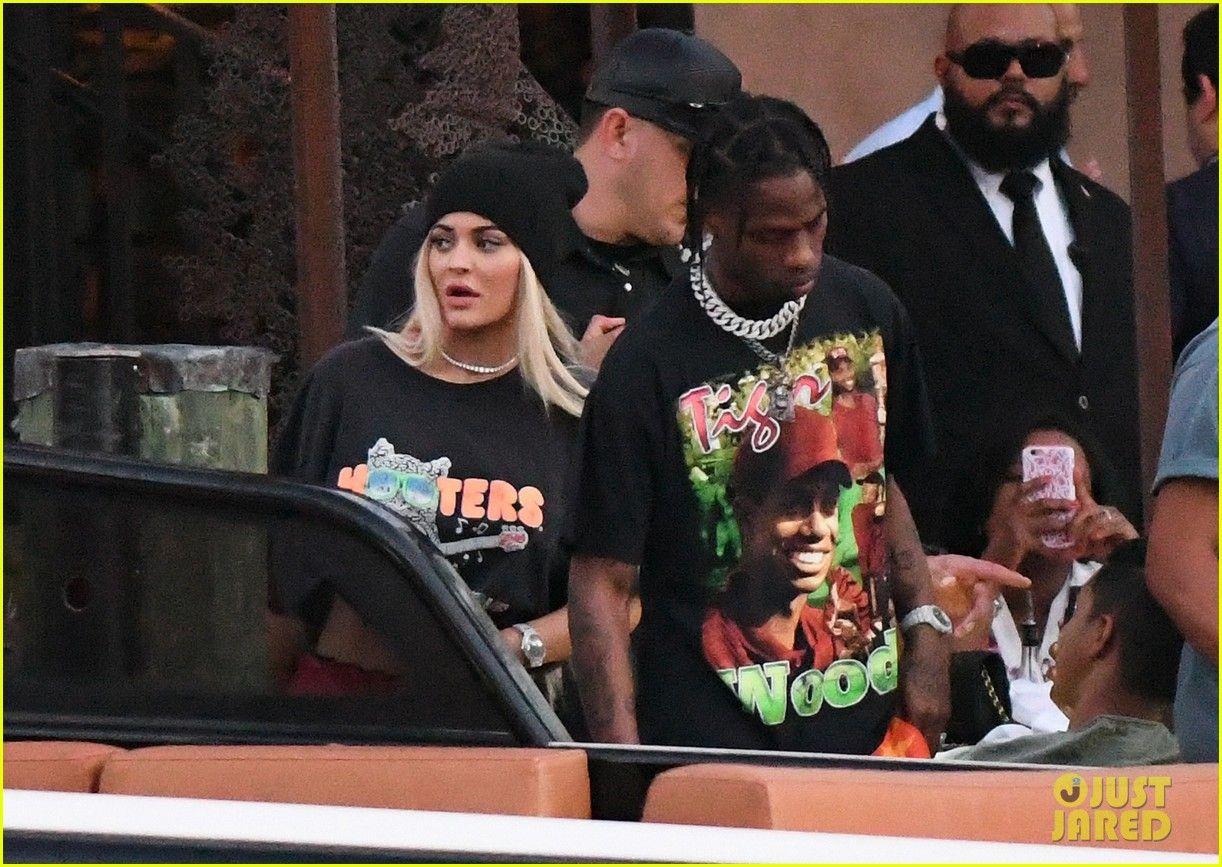 Kylie Jenner & Travis Scott Enjoy Date Night in Miami