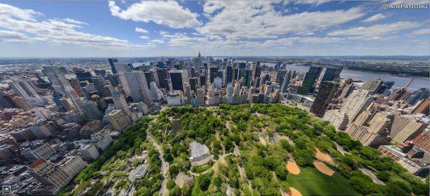 36 Awesome Aerial Panoramas