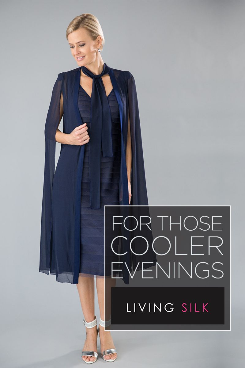 85ed4466fc2 Living Silk - specialising in navy dresses and two piece outfits with  sleeves for the modern and elegant mother of the bride and mother of the  groom.