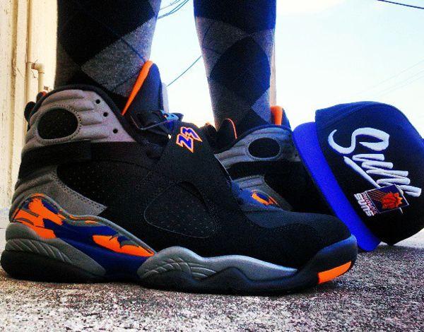 Air Jordan 8 Phoenix Suns Freshkickzdaily Air Jordans Me Too Shoes Sneakers Nike