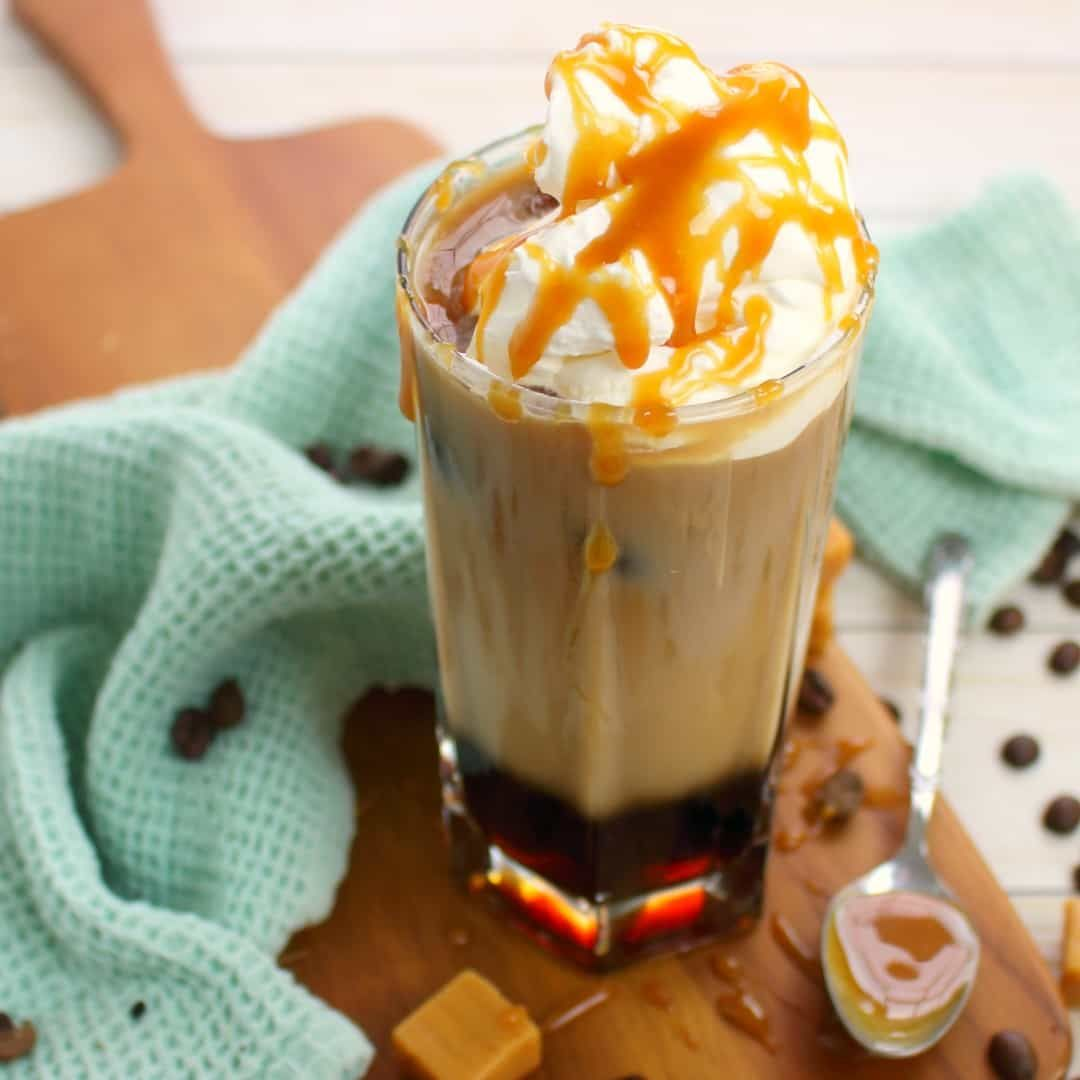 Macchiato Caramel This Iced Caramel Macchiato Recipe Is The Perfect Iced Coffee