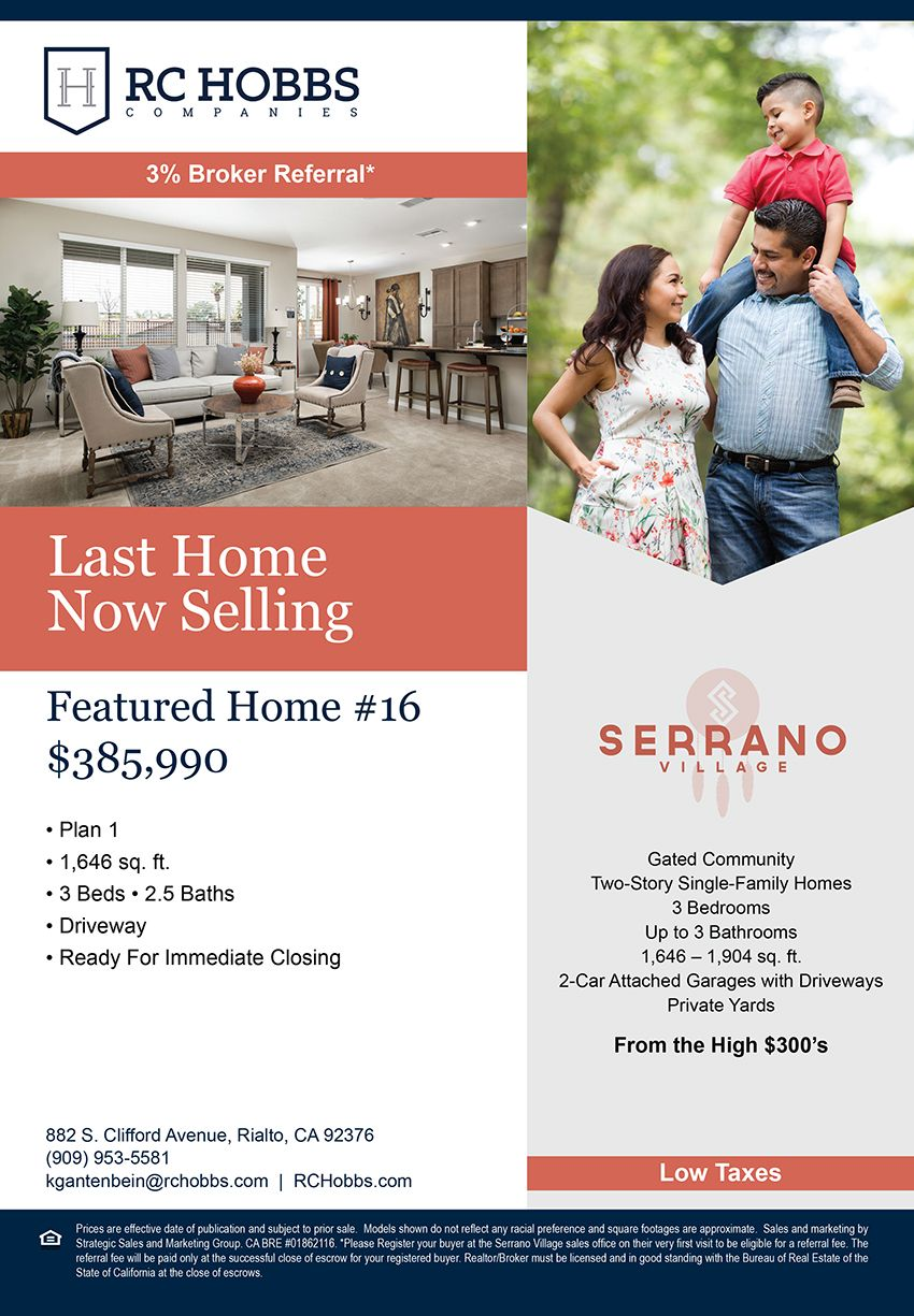 Last Chance To Own At Serrano Village Village New Homes For Sale Gated Community