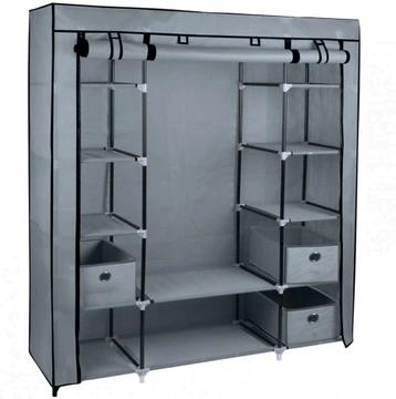 Tanie I Nowoczesne Garderoby I Szafy Wnekowe I Przesuwne Do Przedpokoju Na Allegro Sklep Internetowy Canvas Wardrobe Wardrobe Storage Cupboard Storage