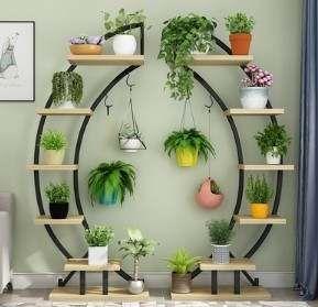 Online Shop 2pcs Standing flower shelf .Living room